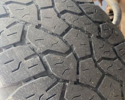 FS 255/70/16 set of 4 Goodyear Wrangler GREAT Tires