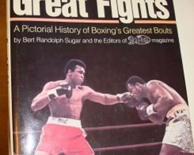 THE GREAT FIGHTS ~ A Pictorial Boxing History !