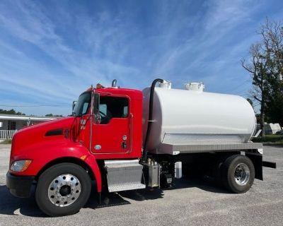 2014 KENWORTH T370 Sewer Rodder, Septic Trucks Heavy Duty