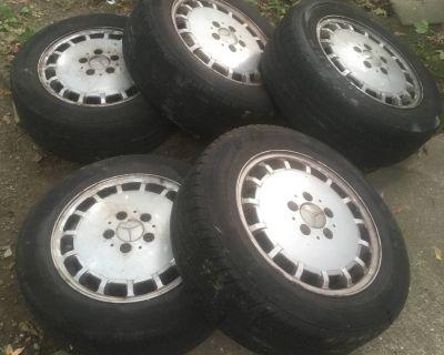 FS: set of 5 W124 stock wheels, 15x6.5