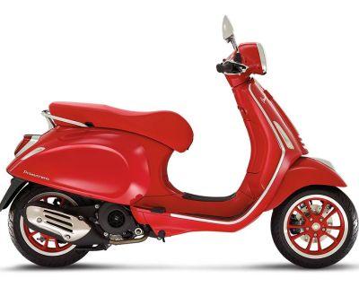 2021 Vespa Primavera 50 iGet Red Scooter Naples, FL