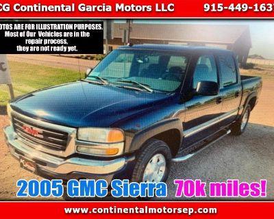 2005 GMC Sierra 1500 SLE Crew Cab Short Bed 2WD