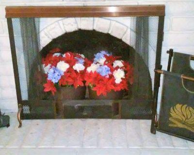 Fireplace Accessory Lot