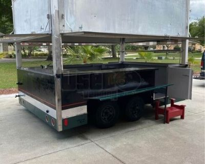 8' x 12' Street Food Vending Concession Trailer / Mobile Food Unit
