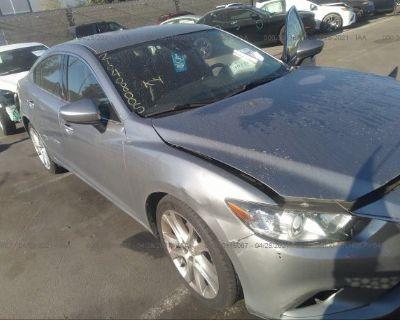 Salvage Silver 2014 Mazda Mazda6