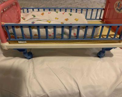 Baby Born Hospital Doll Bed