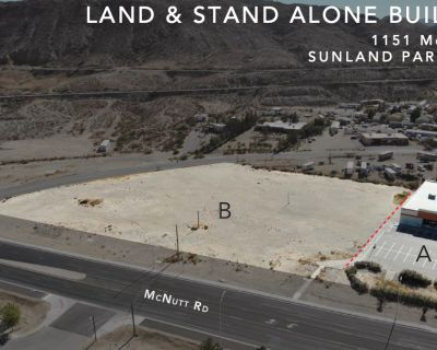 LAND AND STAND ALONE BUILDING FOR SALE