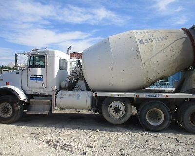 2004 KENWORTH T800 Concrete Mixer, Pump Trucks Truck