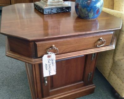 Harden End Table Cabinet