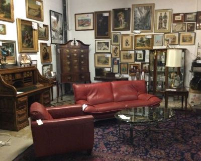 Estate Sale this Weekend in our Jack London Square District Warehouse Showroom