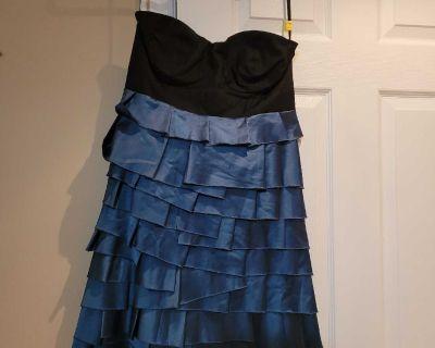 Short evening party dress