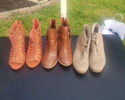 $6 and under. Sz 8 &8.5. Yard sale today.
