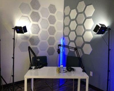 Podcast Studio & Creative Space in Valencia, Santa Clarita, CA