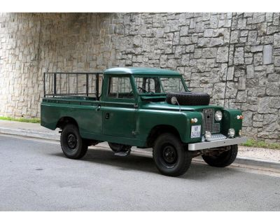 1961 Land Rover Series IIA