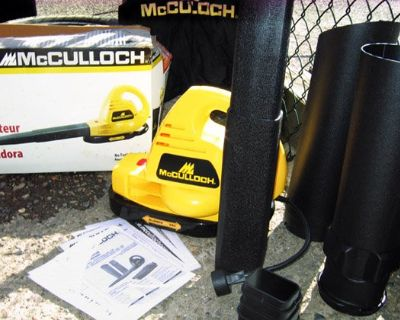 McCulloch Blower Vac NEW with Box