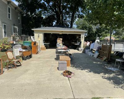 GARAGE SALE - Today Friday Aug. 27 - Saturday Aug. 28