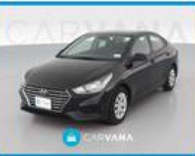 2019 Hyundai Accent Black, 24K miles