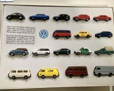 NOS VW Toy Car Set