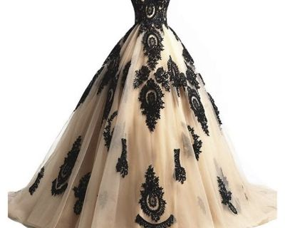 Wedding / quince/ party dress Gothic style dress