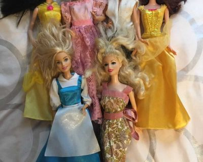 6 barbies all for $5