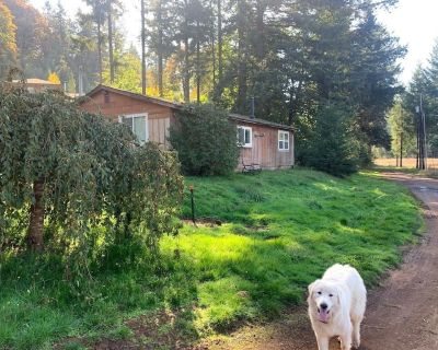 Remodeled Rustic Cab Remodeled Cabin on Veggie Farm With Playground! - Linn County