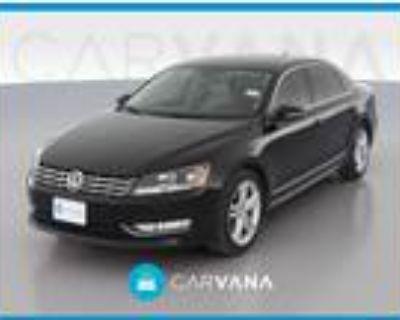 2012 Volkswagen Passat Black, 84K miles