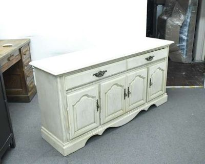 LOVESEAT.COM Vintage Furniture & Decor Auction - Upholstered Dining Chair Sets, Modern Lighting