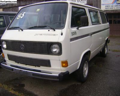 Rust Free Vanagon. . . ready to go