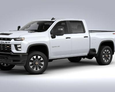 New 2021 Chevrolet Silverado 2500 HD Custom Four Wheel Drive Trucks