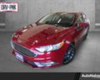 2018 Ford Fusion Red, 53K miles