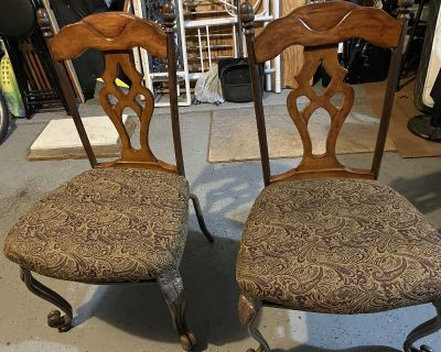 Two nice chairs ($55 both)