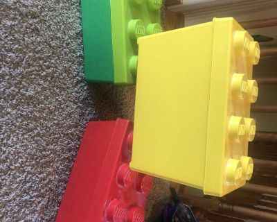 Lego storage containers