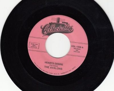 AVALONS ~ Heart's Desire*Mint-45 !