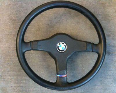 M Tech 3 Spoke Steering Wheel Bmw E30 E28 E24