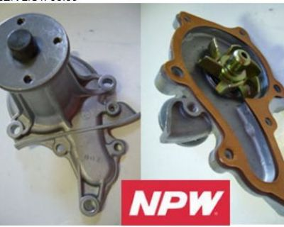 For 81 82 Toyota Tercel 1.5l Water Pump Npw New