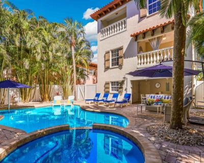 Forget Me Knot: Heated Pool, Hot Tub, Ping Pong Table, Short Walk to the Beach! - Holmes Beach