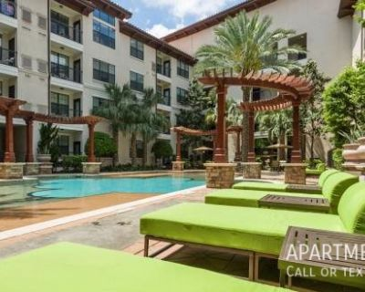 Tile and wood floors with private balconies.apartments in Houston Museum District ..