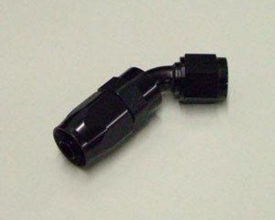 Aeromotive 15651 -6 An 45 Degree Hose End Black