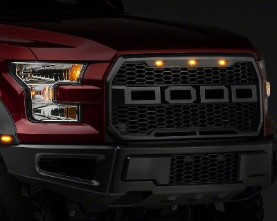 Barricade Upper Replacement Grille w/ LED Lighting