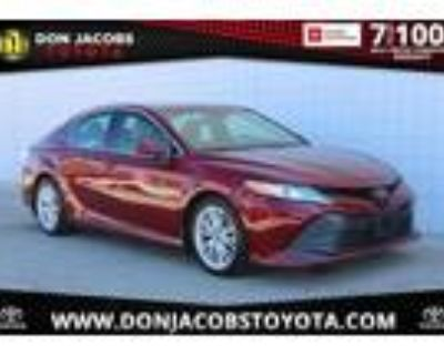 2018 Toyota Camry Red, 14K miles