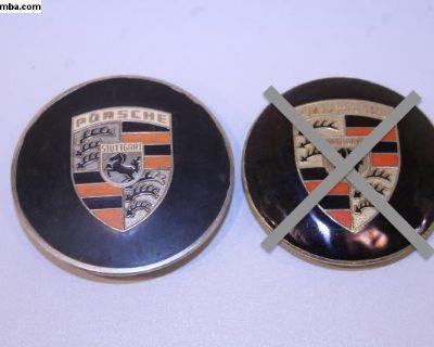 NOS 356 Porsche Hubcap Badges
