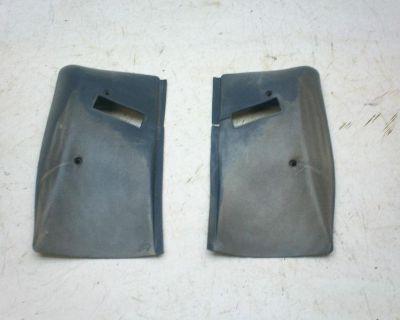 74-81 Camaro Firebird Trans Am Seat Belt Retractor Covers Need Paint 20065374-5