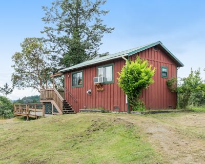 New listing! Charming cabin w/hot tub, near everything in Deer Harbor - dogs OK! - Deer Harbor