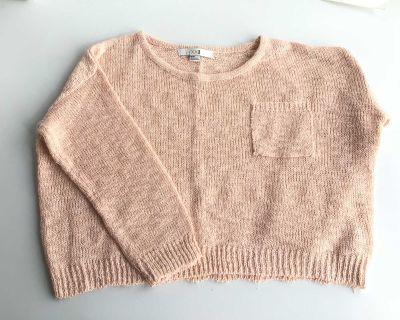 Soft Peach Sweater - Size M/M