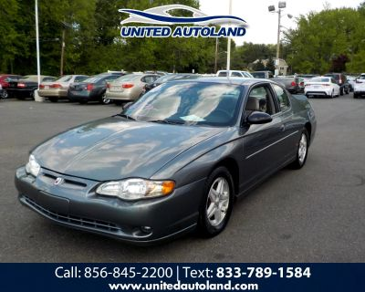 Used 2004 Chevrolet Monte Carlo 2dr Cpe SS