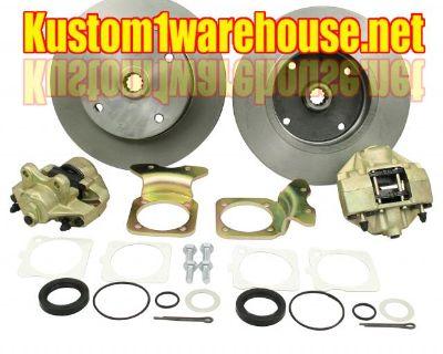 Rear disc brake kit w/o emergency brake
