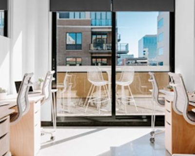 Team Office for 8 at neu.works @ Cherry Creek North