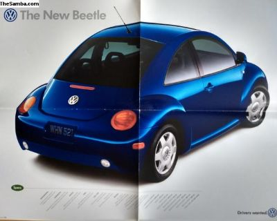 New Beetle brochure and advertisement collection