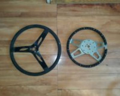 Two old Steering wheels for one price