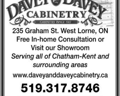 DAVEY AND DAVEY CABINETRY...